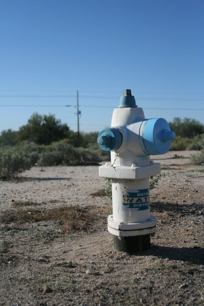Metro Water District Fire Hydrant